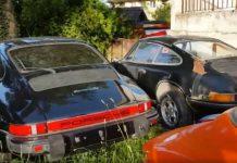 Abandoned Porsche Collection Found In Switzerland 1