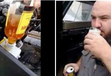 Alcohol Dispenser In Your Car 111