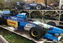 Amazing Abandoned Formula 1 Cars Are Rusting Away 1