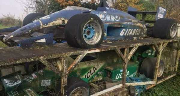 Amazing Abandoned Formula 1 Cars Are Rusting Away 2