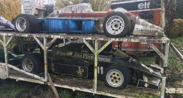 Amazing Abandoned Formula 1 Cars Are Rusting Away 3