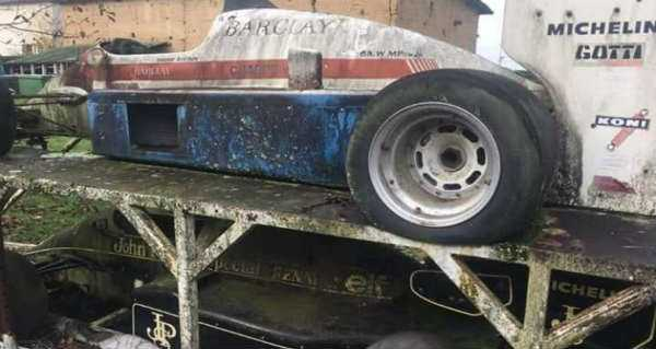 Amazing Abandoned Formula 1 Cars Are Rusting Away 4
