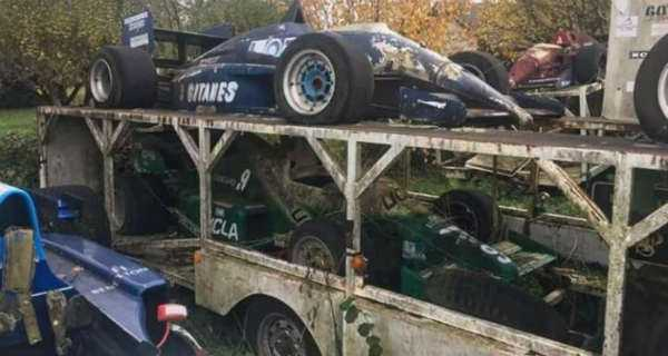 Amazing Abandoned Formula 1 Cars Are Rusting Away 5