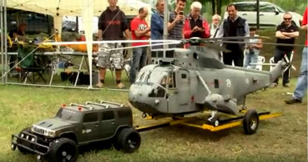 An Extremely Realistic RC Helicopter In Action 1