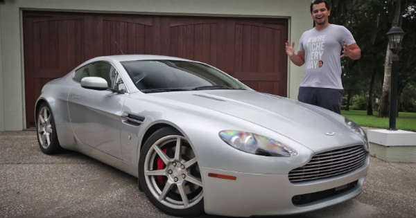 Aston Martin Vantage Parts 2
