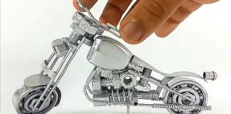 Awesome Video Tutorial - DIY Toy Motorcycle 11