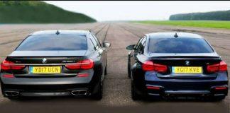 BMW M760Li vs BMW M3 - Head 2 Head 1