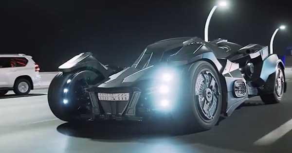 Batmobile Dubai Version Lambroghini Gallardo 2