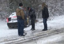 Dale Earnhardt Jr Crashed His Car In A Heavy Snowstorm 1