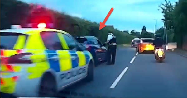 Dangerous Racers Trough Traffic Get Pulled Over Instant Karma 1