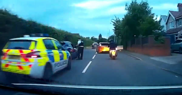 Dangerous Racers Trough Traffic Get Pulled Over Instant Karma 2