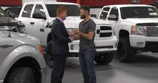 Dealership Offered FREE Truck to Taylor Winston for Helping Victims in Vegas 1