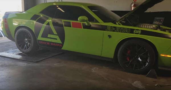 Dodge Demon vs Dodge Hellcat - Dyno Battle 2