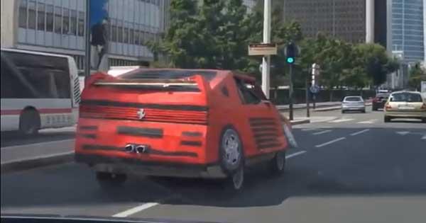 Fake Ferrari Mask 2