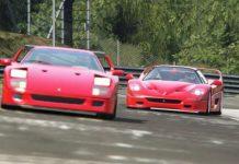 Ferrari F40 vs Ferrari F50 Race 11