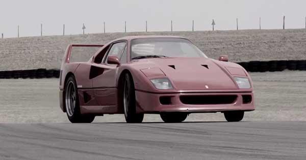 Ferrari F40 vs Ferrari F50 Race 2