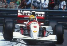 For Auction Ayrton Sennas Winning Formula 1 Car From Final Monaco Grand Prix 1