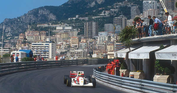 For Auction Ayrton Sennas Winning Formula 1 Car From Final Monaco Grand Prix 2