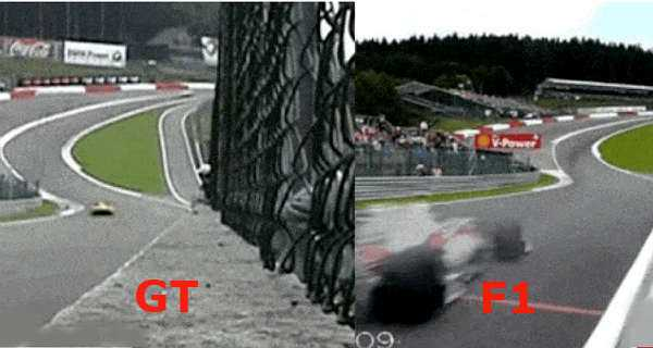 GT VS F1 Speed Comparison 2