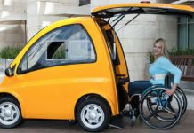 Genius Electric Car Designed For Wheelchair Users 1