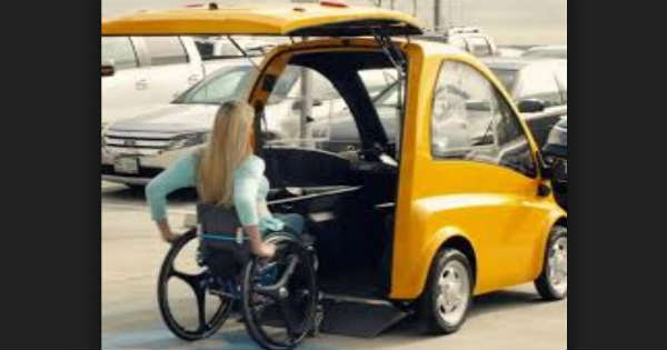 Genius Electric Car Designed For Wheelchair Users 2