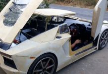 Home Built Lamborghini 2