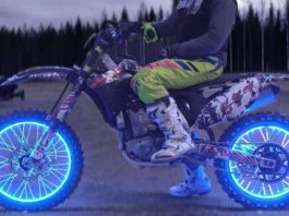 How To Make LED Light Wheels For Motorcycle 1