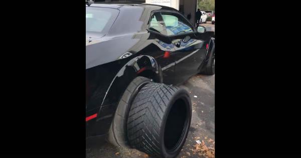Hulk Hogan Bought Dodge Demon Change The Tires Immediately 2