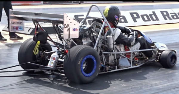 Insane 9 Second Drag Kart In Action 1