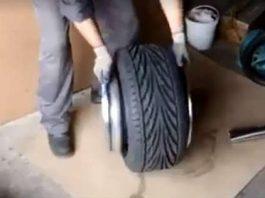 Installing A Small Tire Over A Big Rim 1