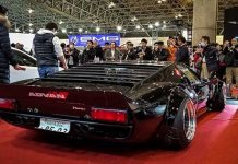 Japanese Tuning Company Liberty Walk Creates Widebody Lamborghini Miura 1