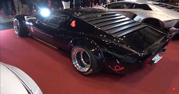 Japanese Tuning Company Liberty Walk Creates Widebody Lamborghini Miura 2