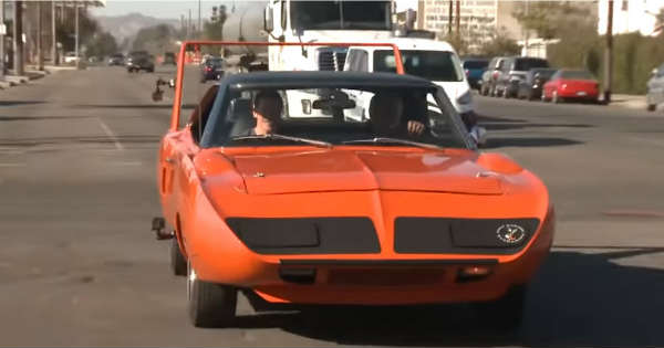 Jay Leno Drive The Almighty 1970 Plymouth Superbird 2