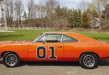 John Bo Duke Schneiders Dodge Charger General Lee Up FOR SALE 1