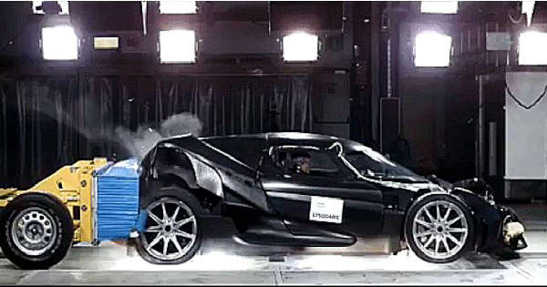 Koenigsegg Regera Crash Test Endurance Testing Abuse 1
