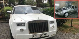 Mercedes Converted To Rolls Royce 2