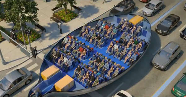 New Futuristic Public Transport Firefighting Drone Concept 1