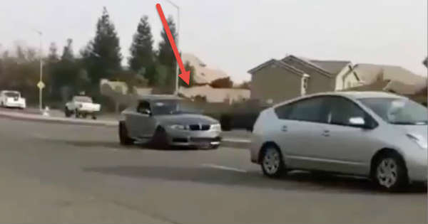 Prius Pulls Illegally In Front A BMW Who is at Fault 1