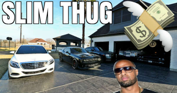 Slim Thug Million Dollar Car Collection 2