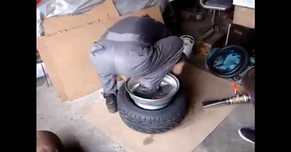 Small Tire Can Fit Over A Big Rim 2