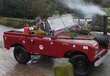 Steam Powered Land Rover 1