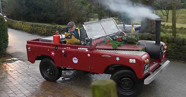 Steam Powered Land Rover 1