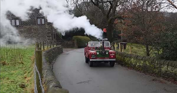 Steam Powered Land Rover 2