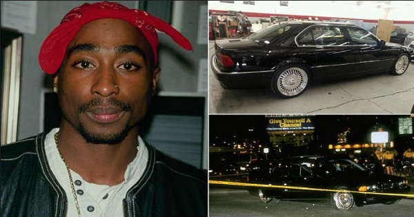 The BMW That Tupac Shakur Was Murdered Is Up For Sale For Amazing Price 1
