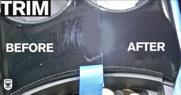 The Best And Easiest Way To Remove Interior Trim Scratches 11