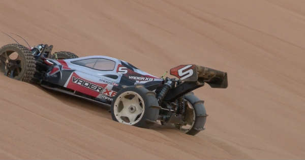 The Craziest RC Sand Drag Car Ready For RC Competition