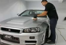 The Detail Work On This Nissan GTR R34 Z Tune Is Stunning 1