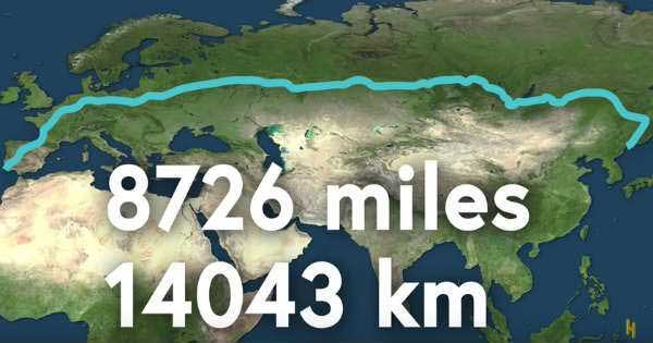 The Longest Drivable Distance On Earth 2