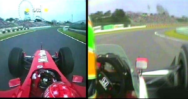 The Secret Of Michael Schumacher Driving Technique 11