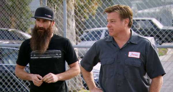 chip foose had a connection with the gas monkey garage. Black Bedroom Furniture Sets. Home Design Ideas